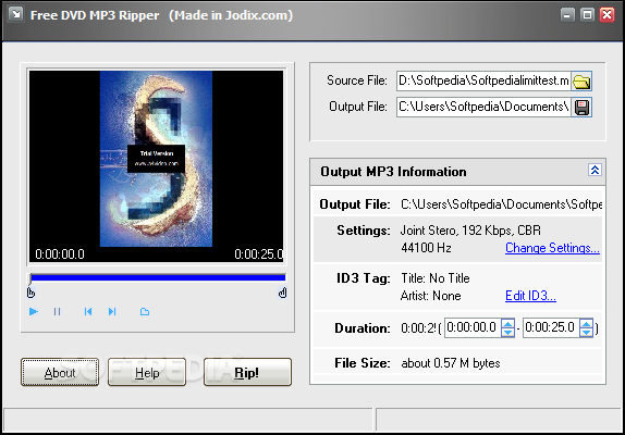 Download Free DVD Mp3 Ripper 1 12 Build 268
