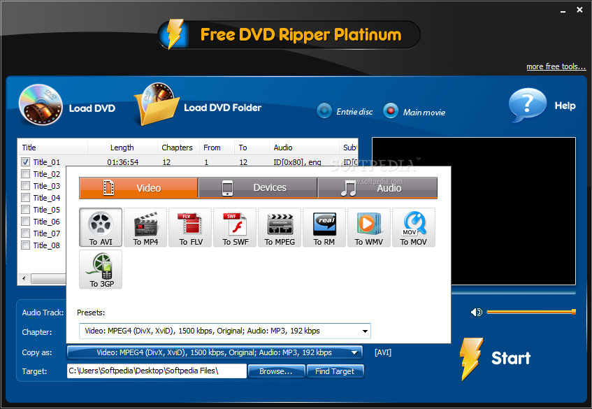 free dvd ripper platinum full version