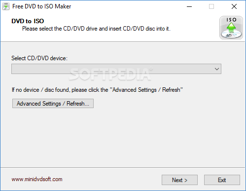 Download Free DVD to ISO Maker 1 2