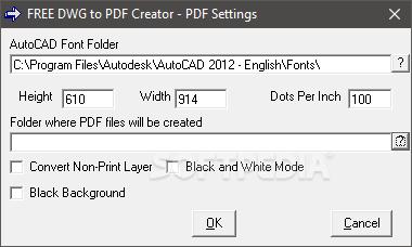Download Free DWG to PDF Creator 3 4 0