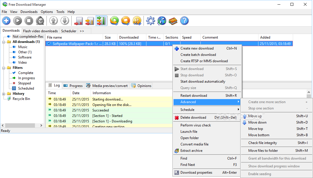free idm download manager for windows 7