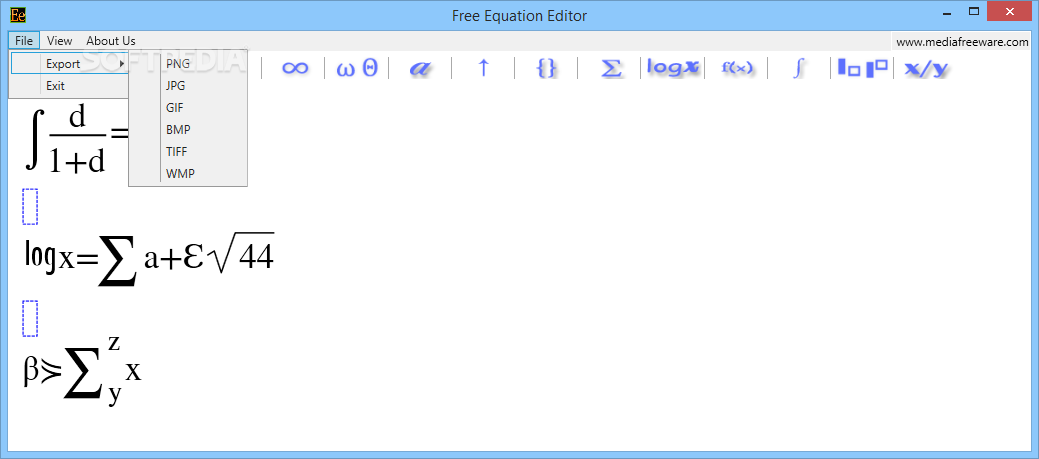 equation editor gratis