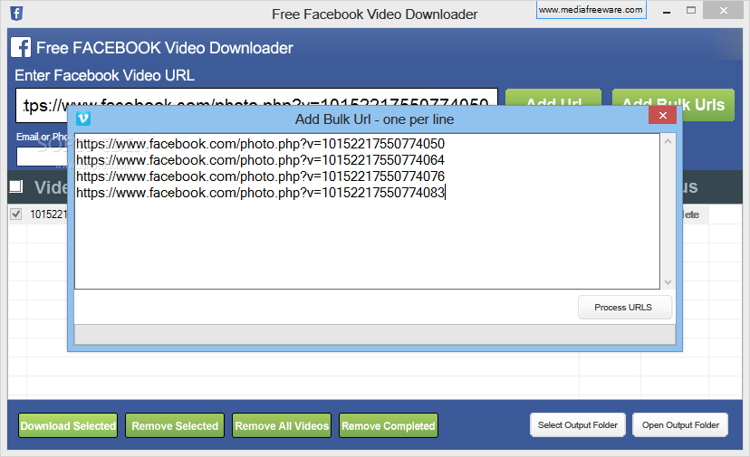 software download video from facebook free