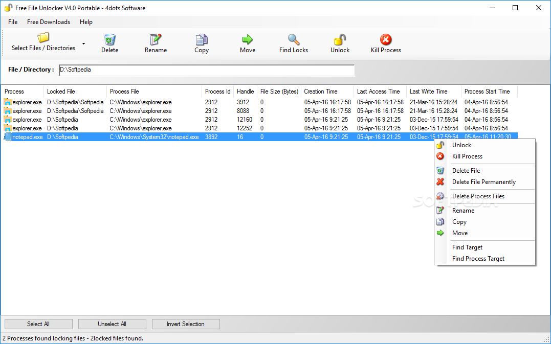 File Unlocker