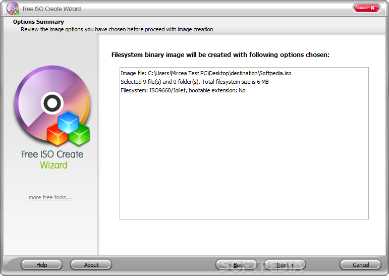 free iso creator download windows 10