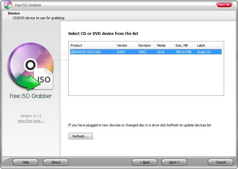 Download Free Iso Grabber 8 8 1