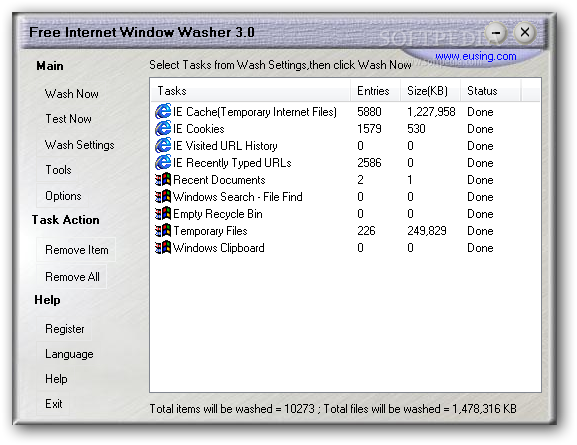 Download Free Internet Window Washer 4 0