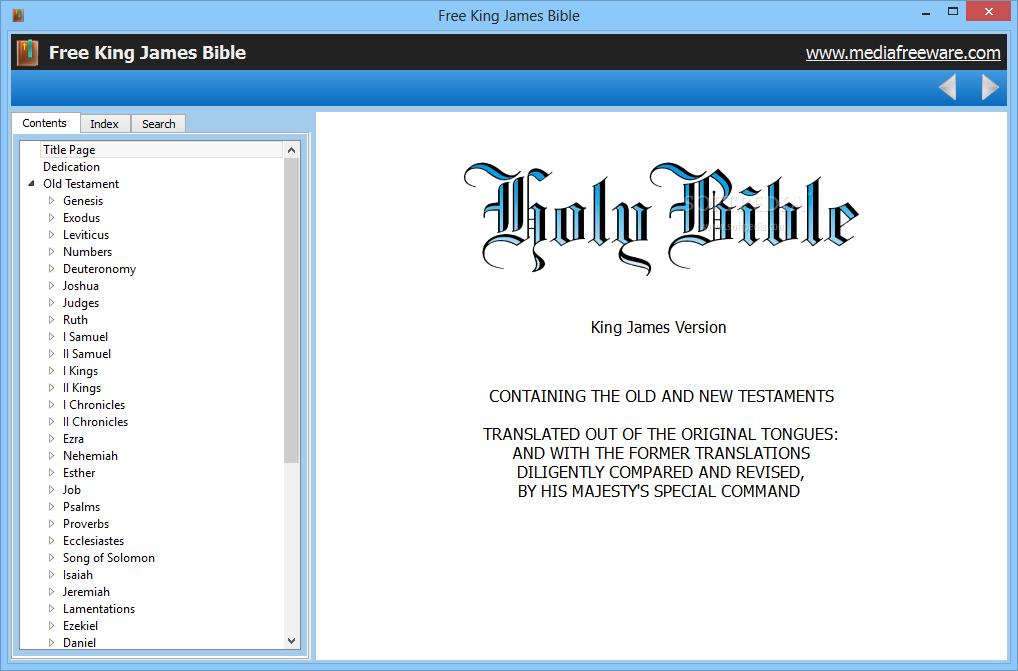 Download Free King James Bible 1 0