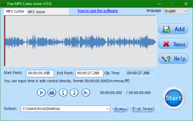 Download Free MP3 Cutter Joiner 11 0