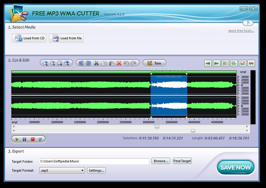 Download Free MP3 WMA Cutter 8 8 2 4
