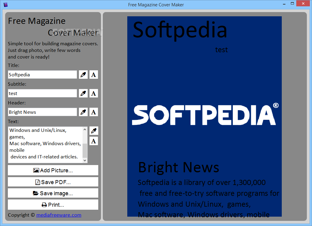 download free magazine cover maker 1 0 0