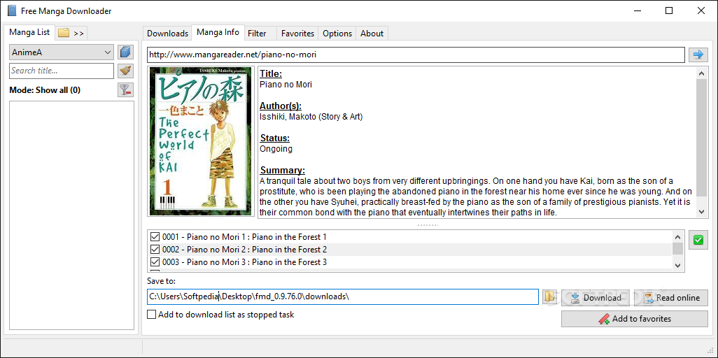 Free manga downloader review tech news log.