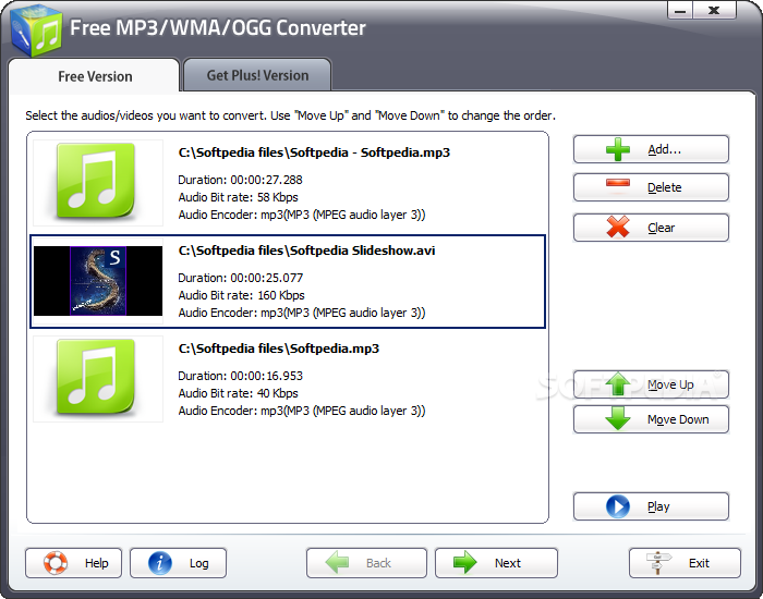 How to convert a MP3 to a WMA file