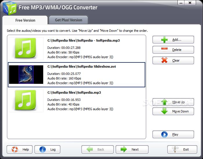 Download Free MP3 / WMA / OGG Converter 10 1 1