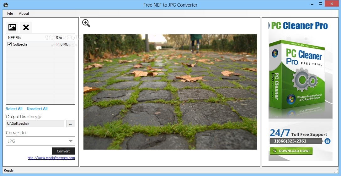convert nef to jpg software free download