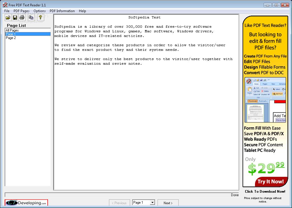 Download Free PDF Text Reader 1141