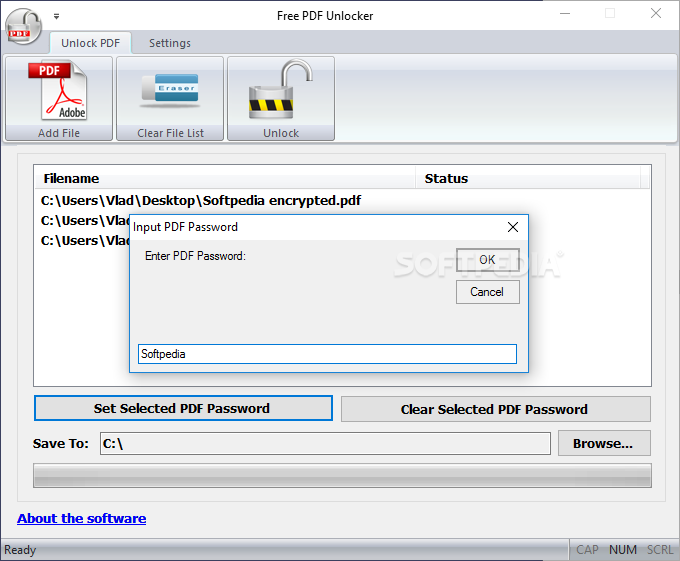 Download Free PDF Unlocker 1 0 0