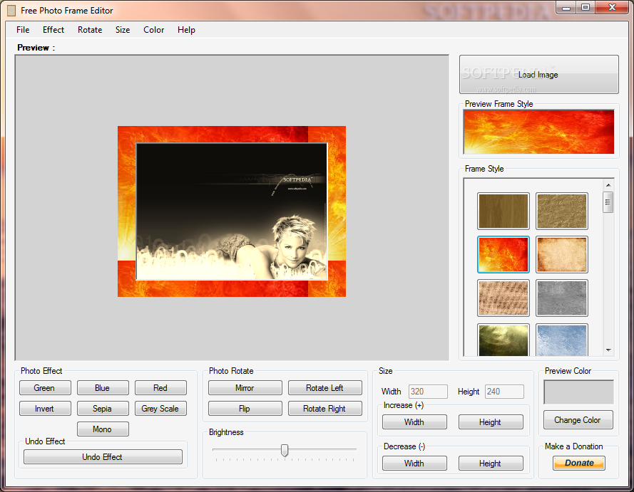 free photo editing software with frames download