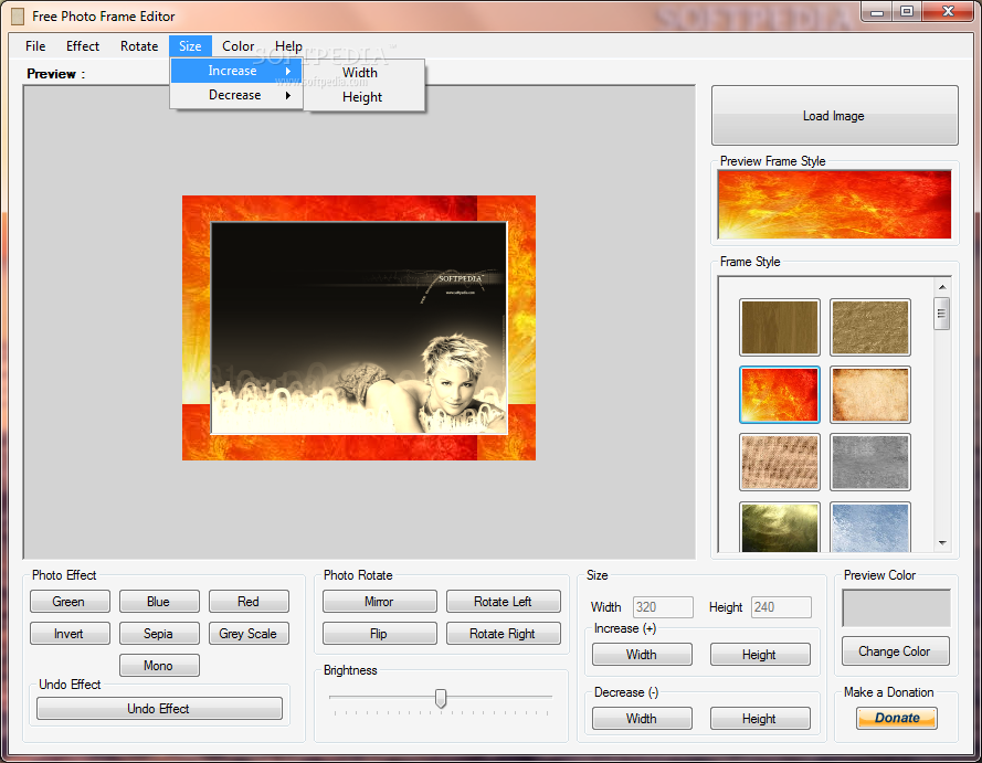Download Free Photo Frame Editor 1 0