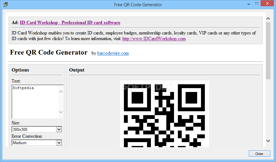 Download Free QR Code Generator