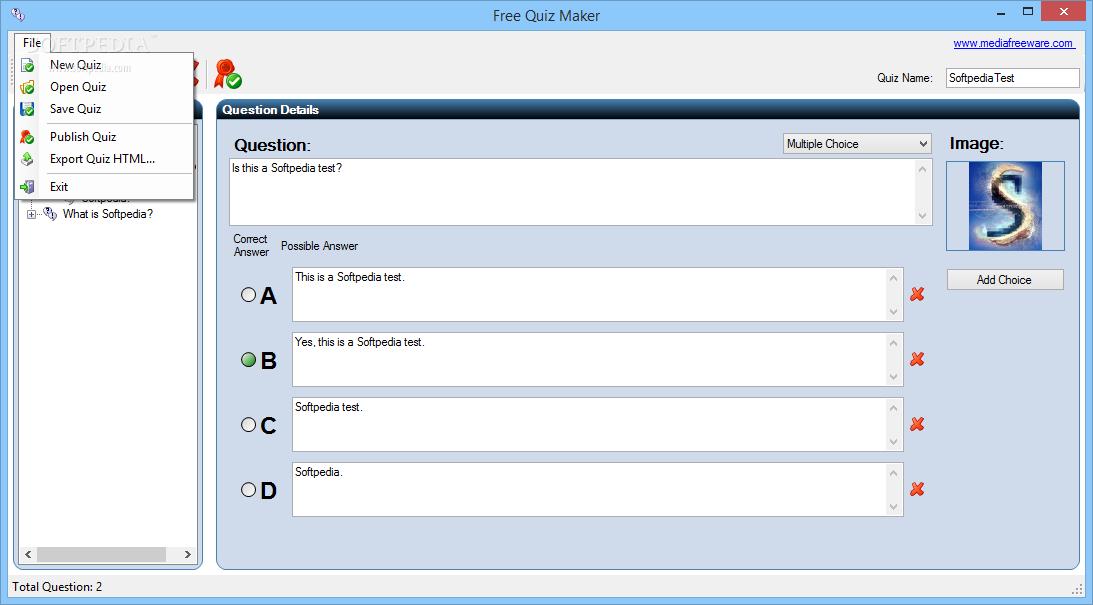 Download Free Quiz Maker 1 0 0 0