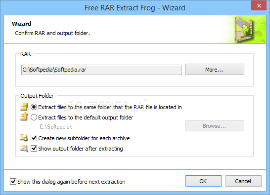 Download Free RAR Extract Frog 7