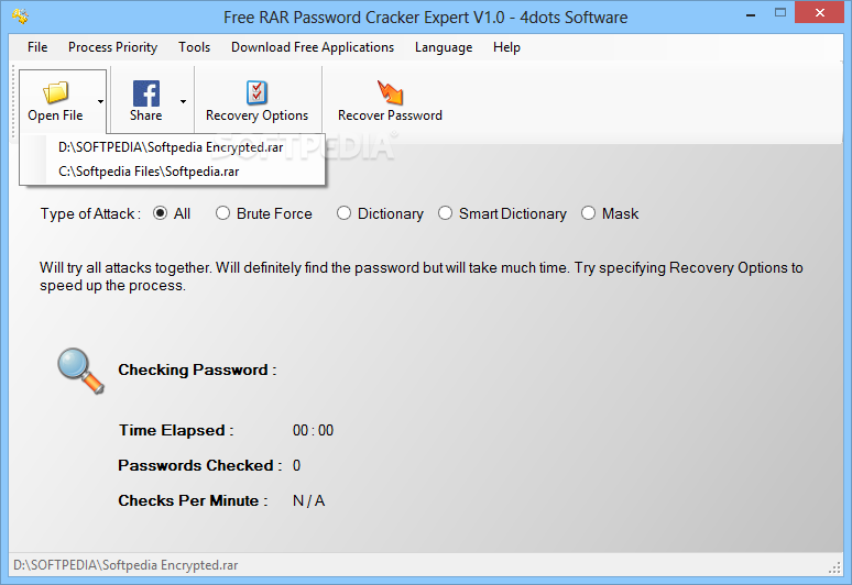 Download Free RAR Password Cracker Expert 2 5