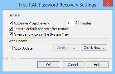 krylack rar password recovery free download