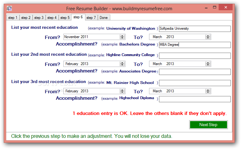 Resume Builder Software Freeware Bestsellerbookdb