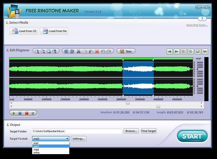 Download free ringtone maker 8. 8. 0.