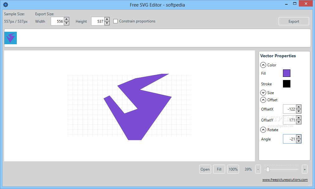Free Svg Editor The Offset And Rotate Functions Allow You To Adjust