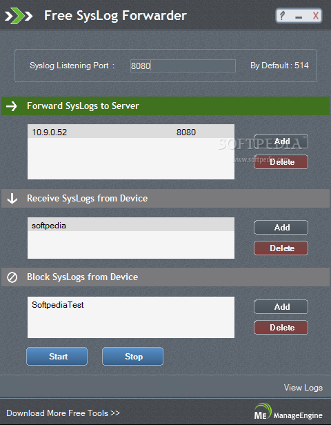 Free Syslog Forwarder Download