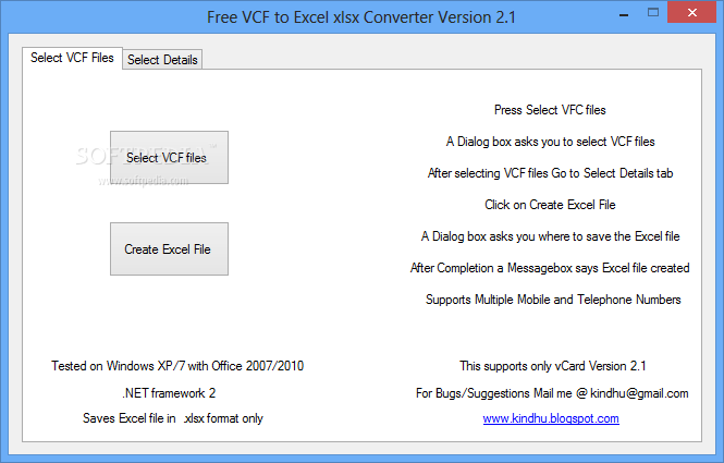 Excel To Vcard Converter With Crack idea gallery