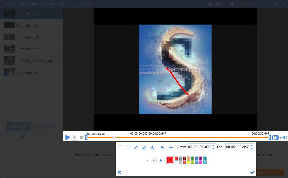 watermark video free