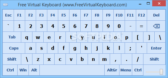 الكتابة باستخدام Virtual Keyboard 2016 Free-Virtual-Keyboar