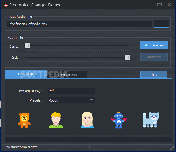 Download Free Voice Changer Deluxe 8 8 1