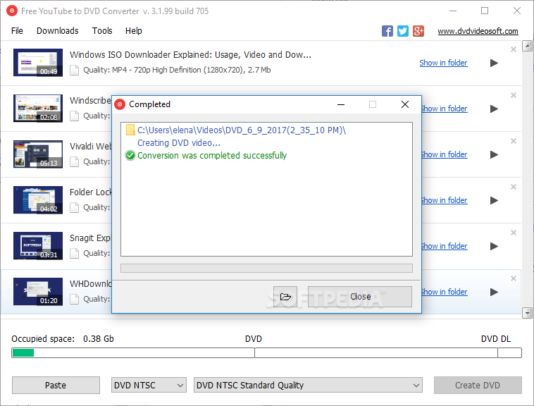Download Free YouTube to DVD Converter 3 1 103 829