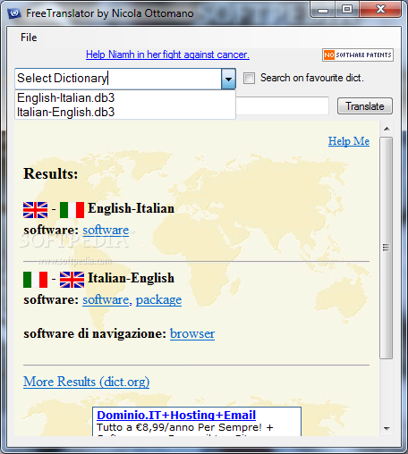 Translator Italian: Translation English To Italian Free