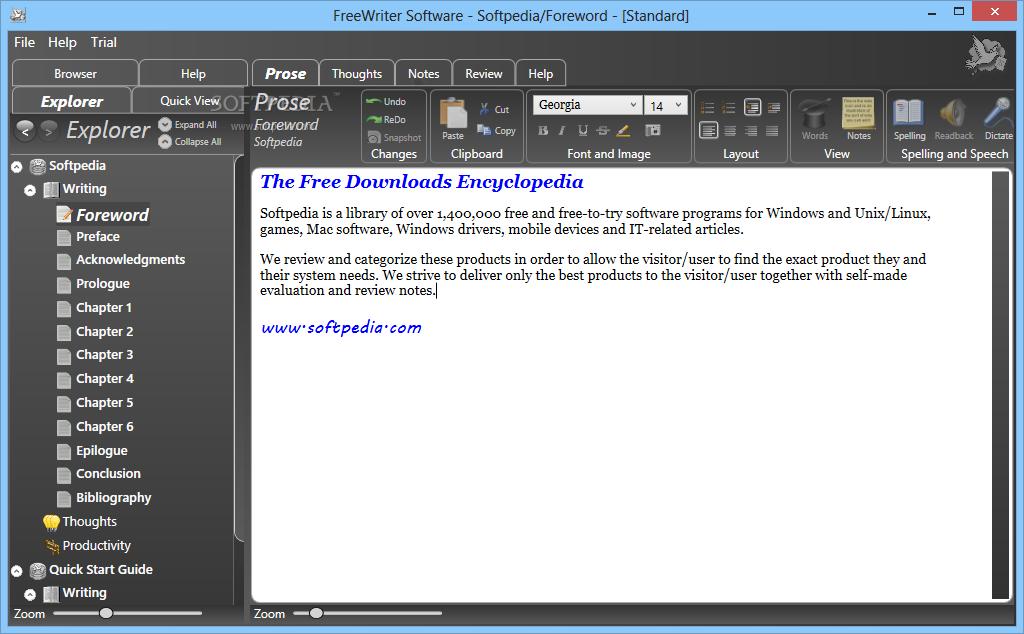 Download FreeWriter 1 0 7