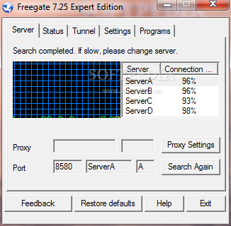 Freegate Expert Edition 7.37 Download Last Update