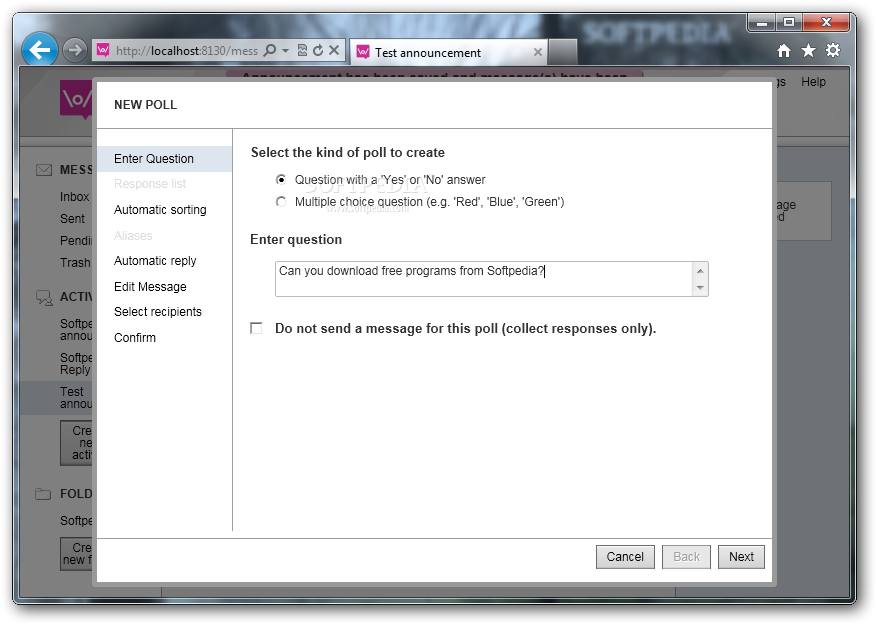 FrontlineSMS screenshot 10
