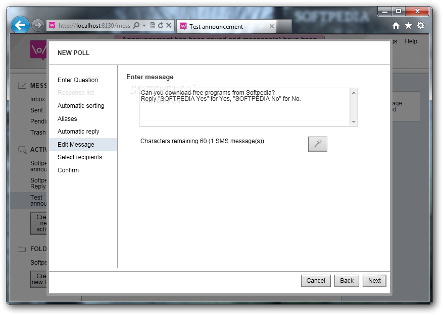 FrontlineSMS screenshot 14
