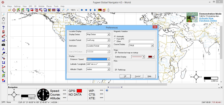fugawi global navigator 4.5