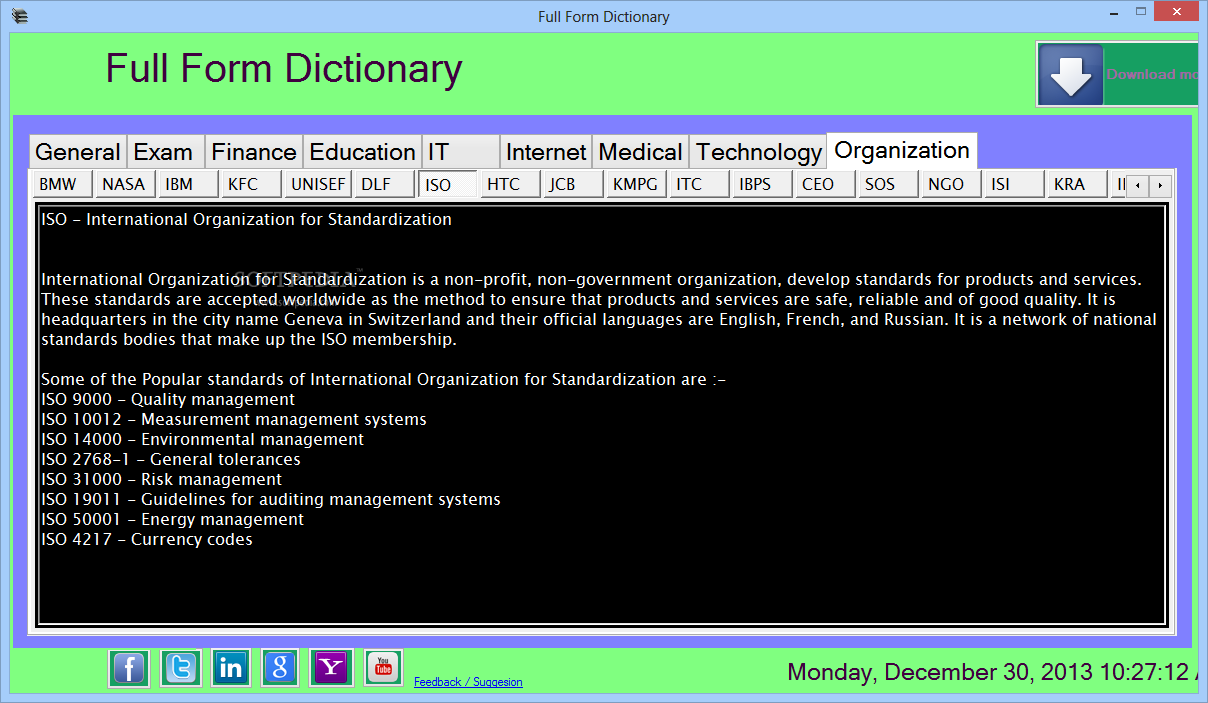 Download Full Form Dictionary 1 0 0 0