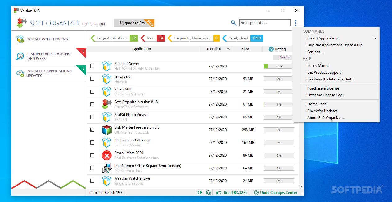 Download Soft Organizer 9.01