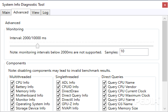 Futuremark SystemInfo screenshot #1
