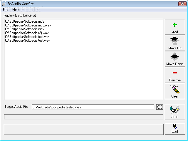 Download Fx ConCat Audio File Joiner 1 2 0