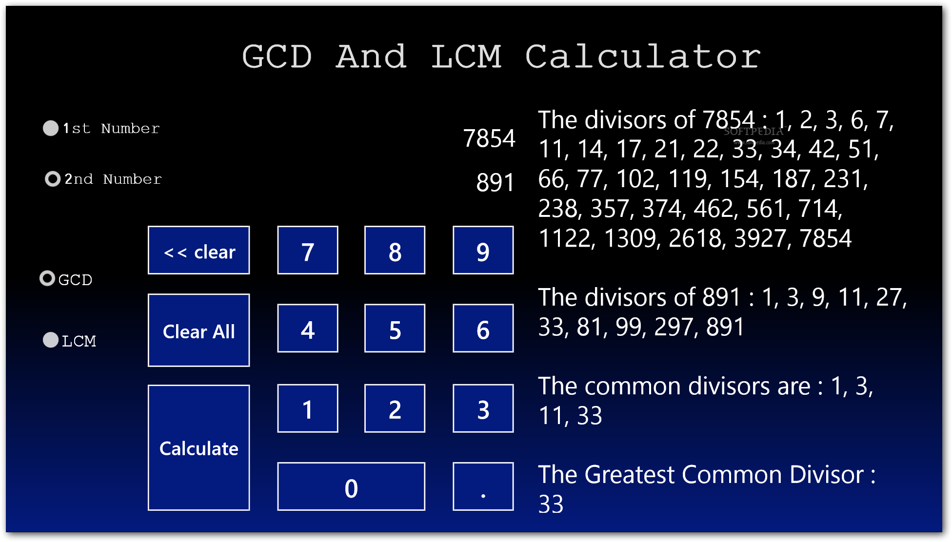 lcm hcf gcd basic concept calculation This free lcm calculator determines the least common multiple related gcf calculator there are multiple ways to find a least common multiple the most basic.