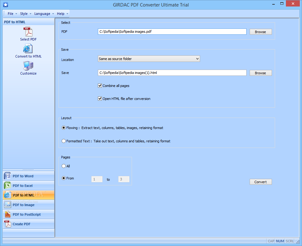 Download GIRDAC PDF Converter Ultimate 23.2.2.4