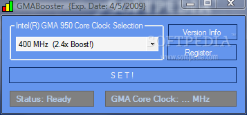 intel gmabooster x4500